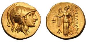Греческая монета