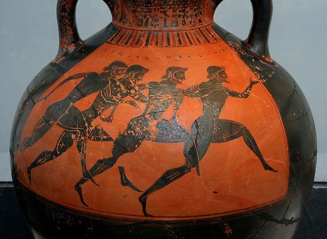 ваза с бегунами на Панафинейских играх