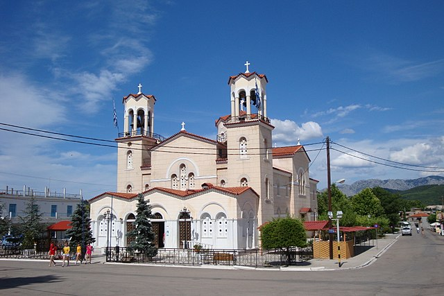 Церковь Святого Иоанна Русского на острове Эвия