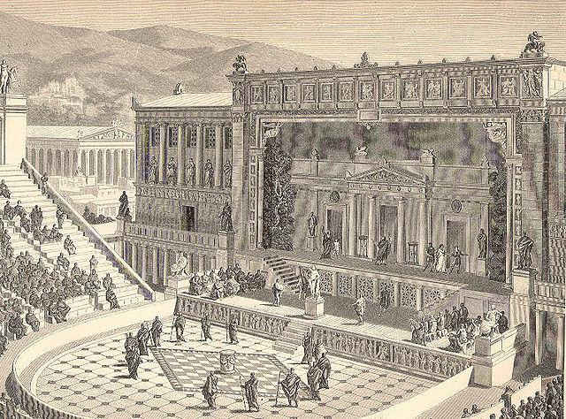 театр Диониса в римское время