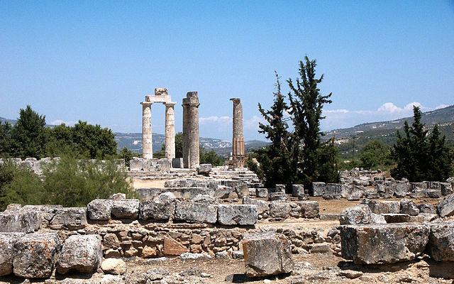 Руины города Немея