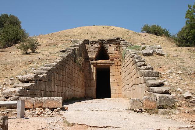 Вход в Сокровищницу Атрея