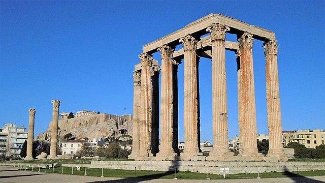 Храм Зевса Олимпийского, г. Афины