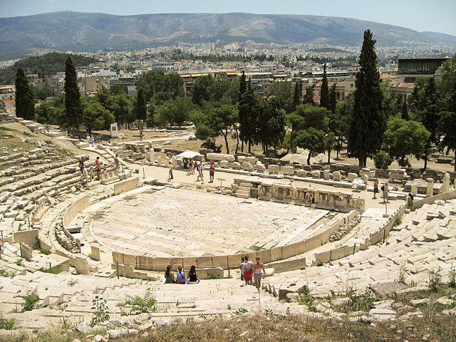 Театр Диониса в наши дни