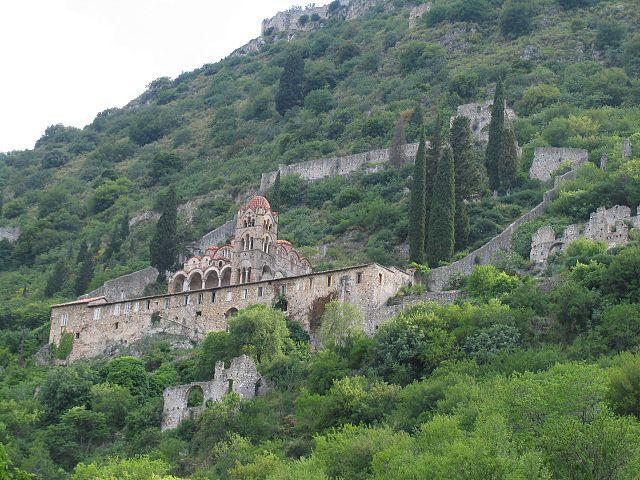 Монастырь Пантанасса в Мистре